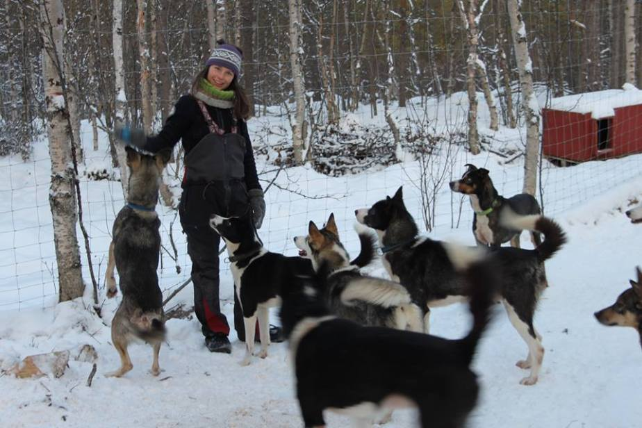 Faces not Places: The DogMushers