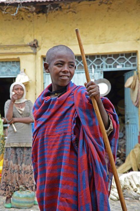 Boy in Gondar