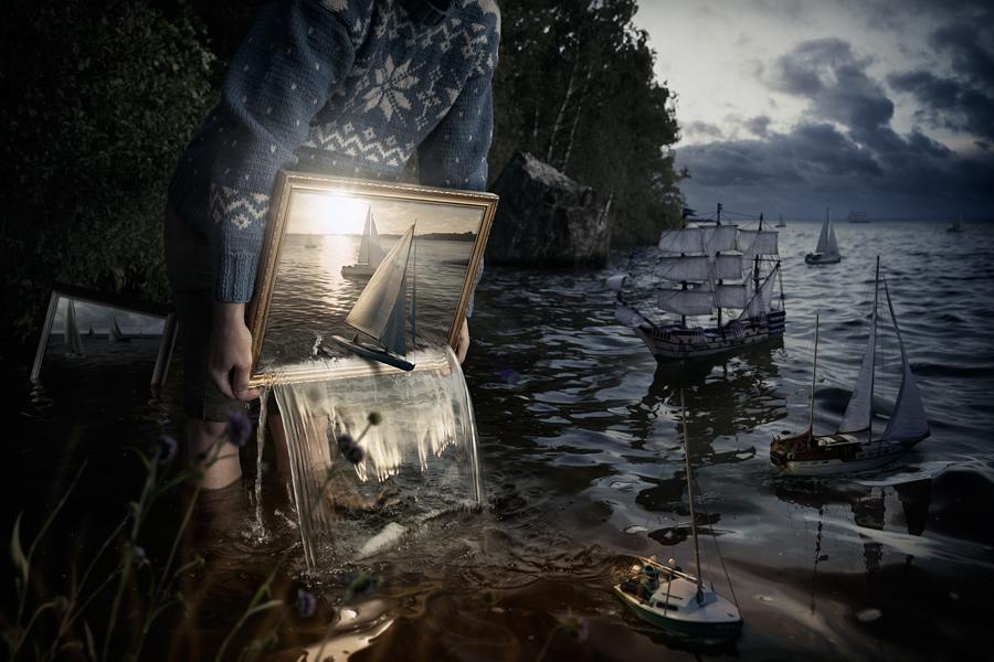 "The Art of Erik Johansson: ""I don't capture moments, I captureideas"""