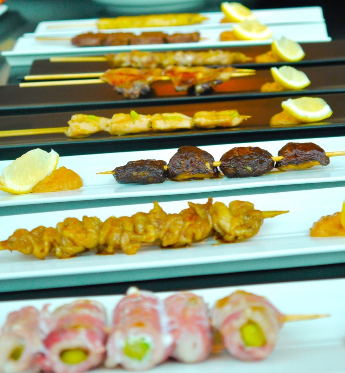Meat skewers (Image - TOMO)