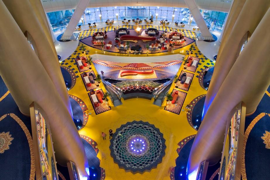 Burj Al Arab - Lobby