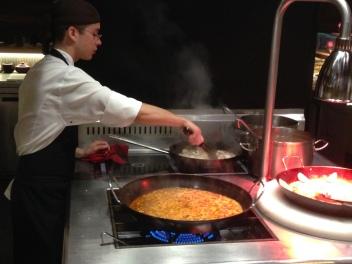 Paella at Salero Tapas & Bodega