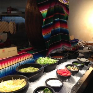 Mexican station at Spectrum On One