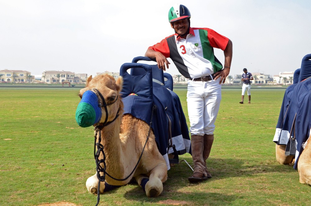 one man and his camel