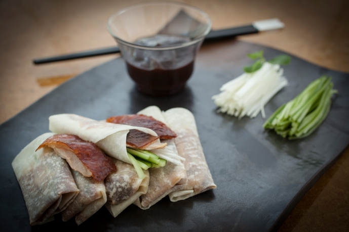 Crispy Duck Pancakes (Image - Ba at Fairmont the Palm)
