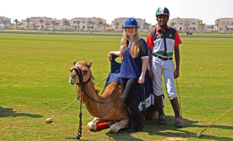 Dubai Part Five: Sticks at Dawn – How Hard Can Camel Polo Really Be..?