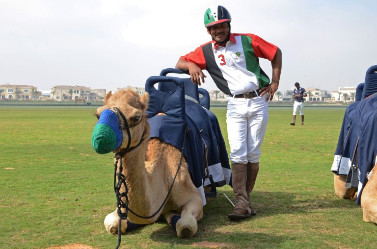 One and his Camel