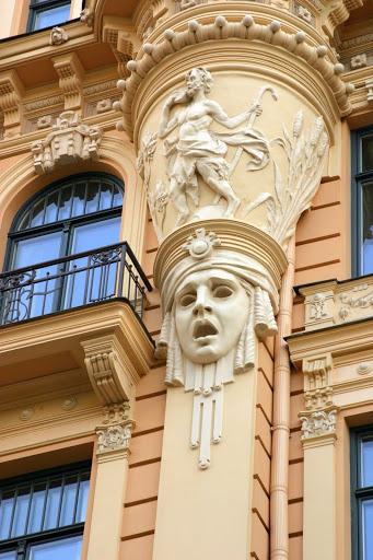 Art Nouveau architecture - Latvia Tourism