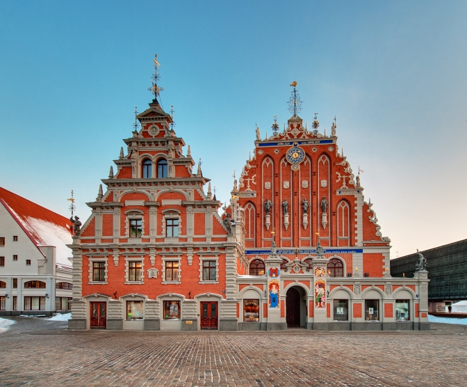 House of the Blackheads -Latvia Tourism