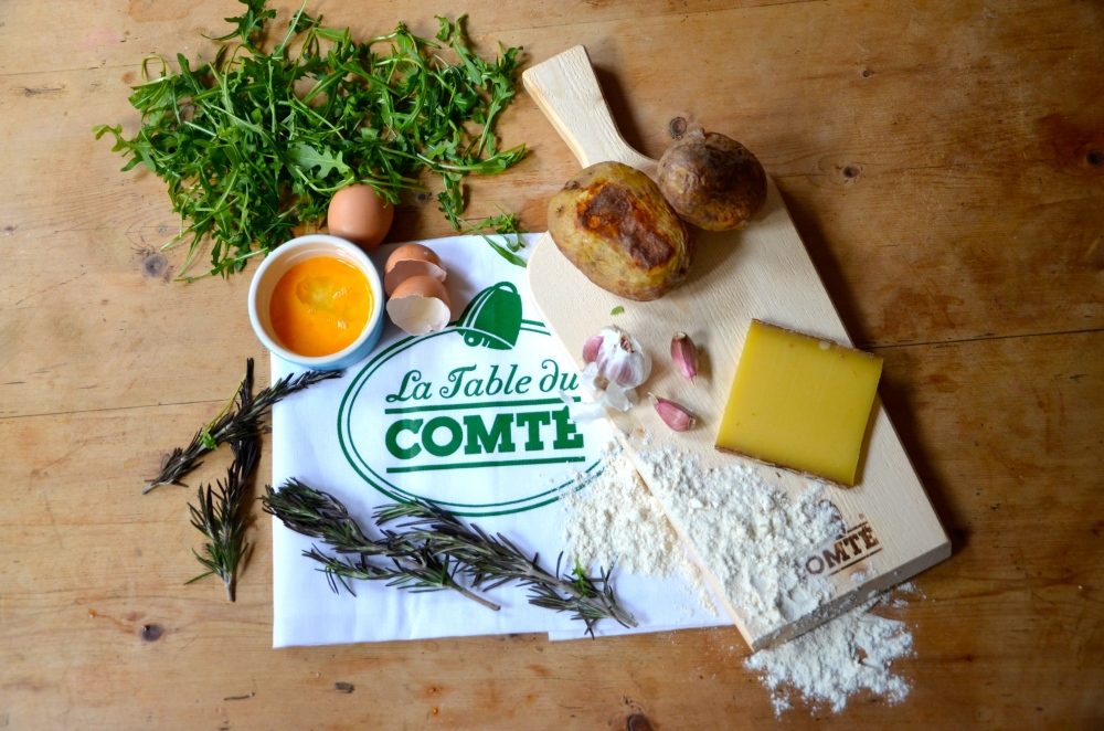 Comte and rosemary gnocchi - the edible woman