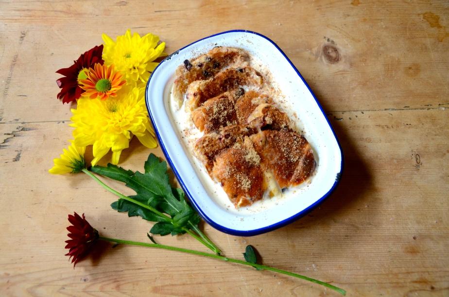 Weekend bake: Hot cross bun bread & butterpudding