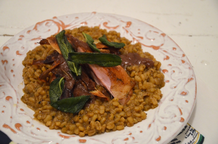 Pays d'Oc IGP recipe challenge: Partridge in a pear treept.1