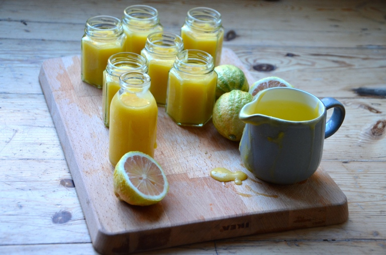 edible woman lemon curd